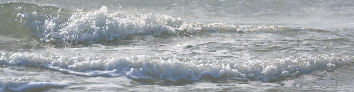 Das Meer lehrt uns den Wechsel der Zeiten und Gezeiten. Veränderung kommt auf natürliche Weise.